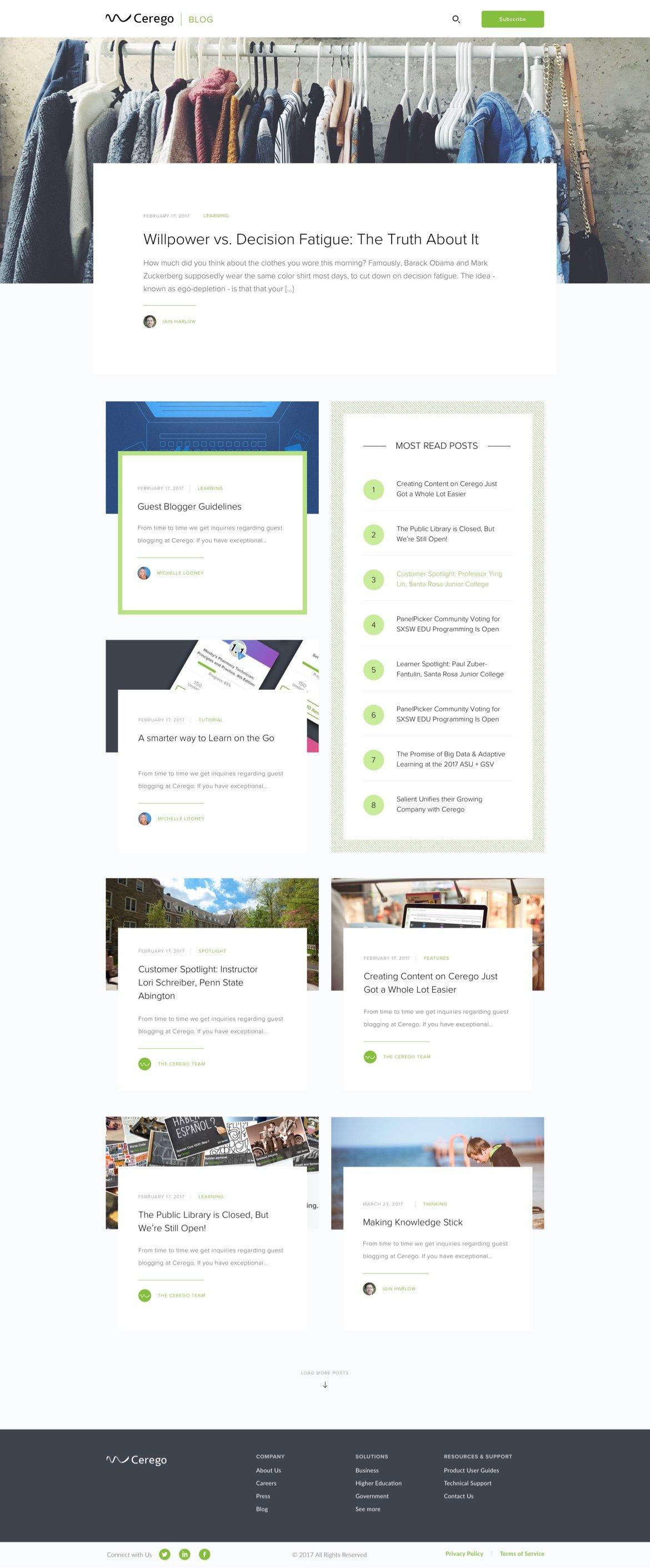 cerego-homepage