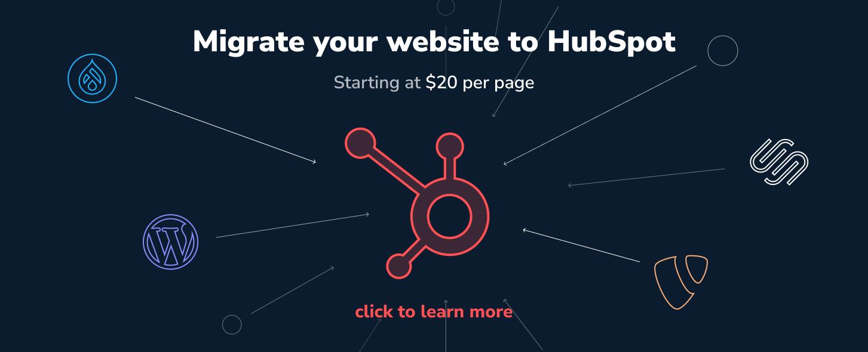 Migrate your website to Hubspot by Inboundlabs